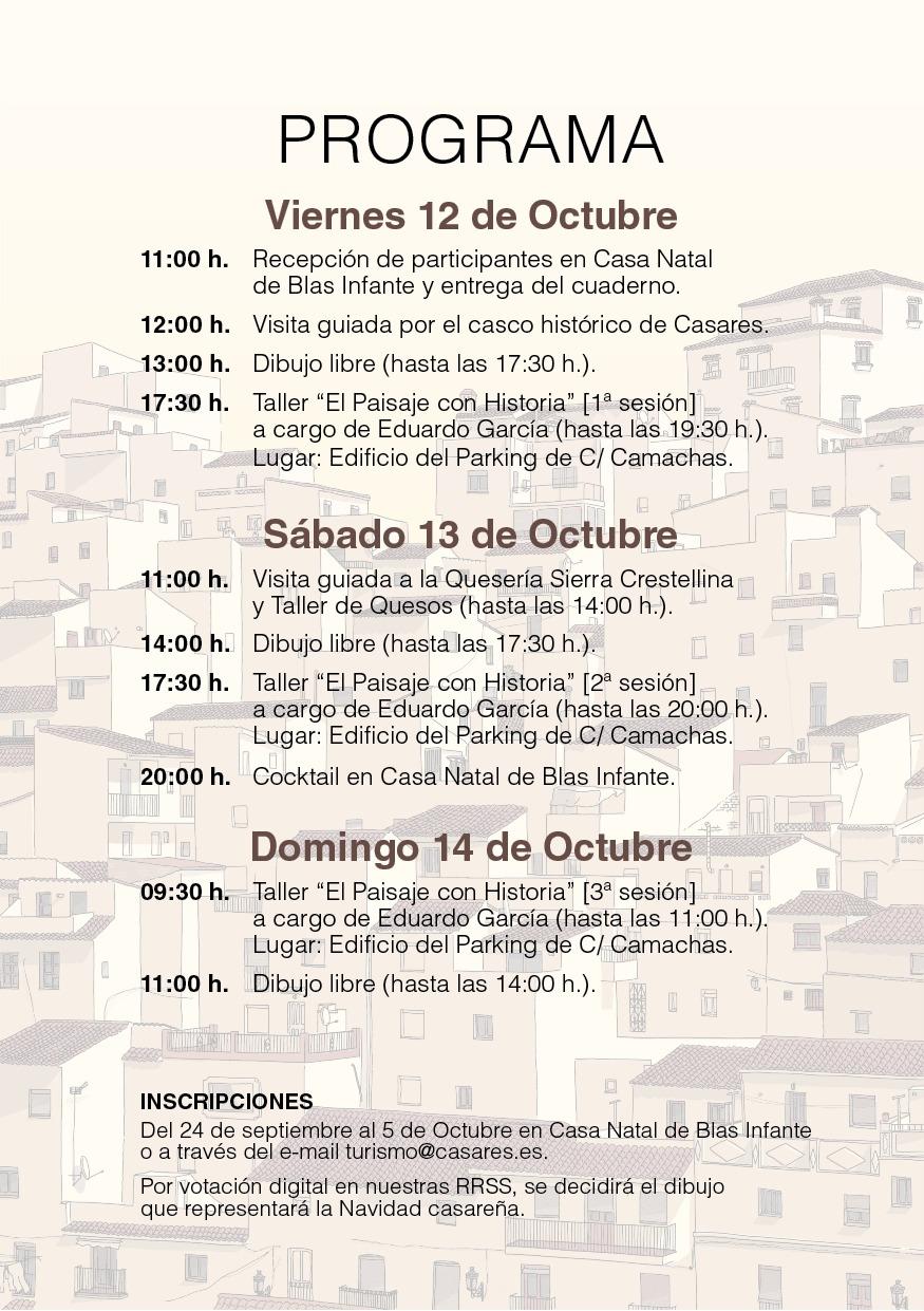 Casares Celebra Su Iii Encuentro De Dibujantes El Fin De Semana Del 12 Al 14 De Octubre Ayuntamiento De Casares